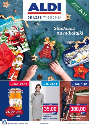 Gazetka promocyjna Aldi, ważna od 26.11.2018 do 02.12.2018.
