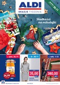 Gazetka promocyjna Aldi - Słodkości na mikołajki - ważna do 02-12-2018