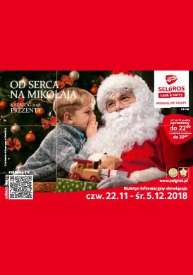 Gazetka promocyjna Selgros Cash&Carry - Od serca na Mikołaja
