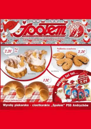 Gazetka promocyjna PSS Andrychów, ważna od 16.11.2018 do 08.12.2018.