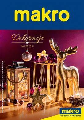 Gazetka promocyjna Makro Cash&Carry - Dekoracje - święta 2018