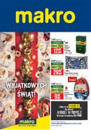 Gazetka promocyjna Makro Cash&Carry - Wyjątkowych świąt!