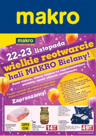 Gazetka promocyjna Makro Cash&Carry, ważna od 20.11.2018 do 03.12.2018.