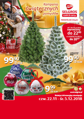 Gazetka promocyjna Selgros Cash&Carry - Kampania świątecznych pomysłów