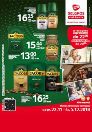 Gazetka promocyjna Selgros Cash&Carry, ważna od 22.11.2018 do 05.12.2018.