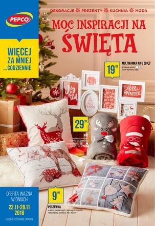 Gazetka promocyjna Pepco, ważna od 22.11.2018 do 28.11.2018.