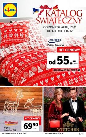 Gazetka promocyjna Lidl, ważna od 26.11.2018 do 02.12.2018.