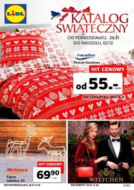 Gazetka promocyjna Lidl - Katalog świąteczny