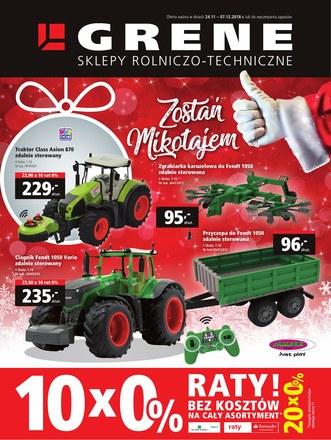 Gazetka promocyjna Grene, ważna od 24.11.2018 do 07.12.2018.