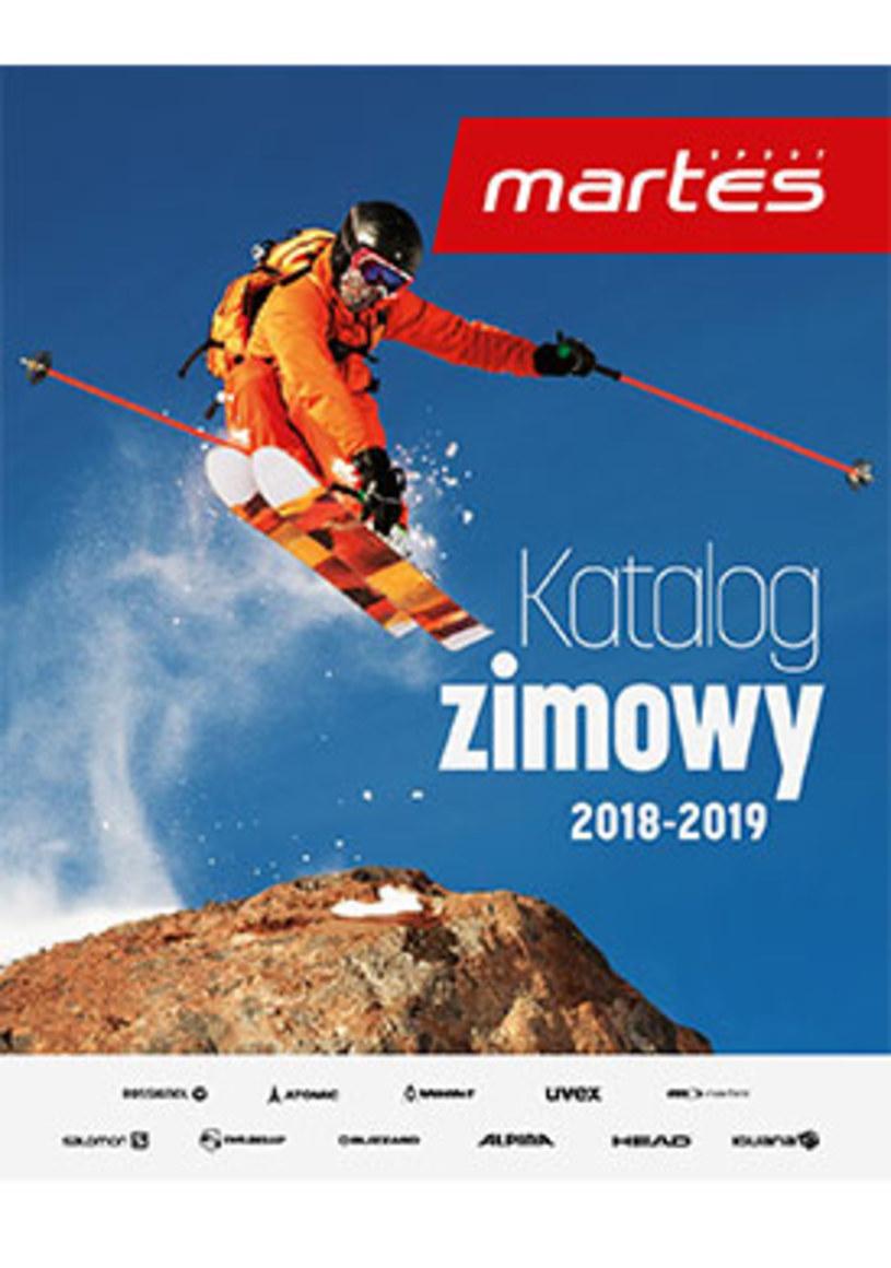 Gazetka promocyjna Martes Sport - ważna od 19. 11. 2018 do 01. 03. 2019