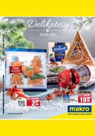 Gazetka promocyjna Makro Cash&Carry, ważna od 20.11.2018 do 24.12.2018.