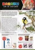 Gazetka promocyjna Kakadu - Menu dla ptaków zimujących  - ważna do 29-11-2018