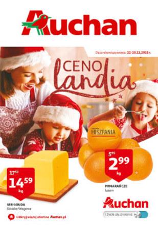 Gazetka promocyjna Auchan, ważna od 22.11.2018 do 28.11.2018.
