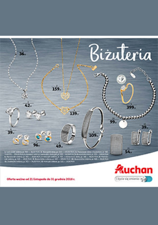 Gazetka promocyjna Auchan, ważna od 21.11.2018 do 31.12.2018.