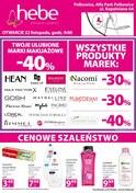 Gazetka promocyjna Hebe - Otwarcie - Polkowice  - ważna do 25-11-2018