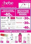 Gazetka promocyjna Hebe - Otwarcie - Cieszyn  - ważna do 25-11-2018