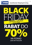 Gazetka promocyjna Jysk - Black friday rabat do 70% - ważna do 25-11-2018