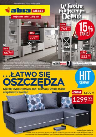 Gazetka promocyjna Abra, ważna od 22.11.2018 do 29.11.2018.