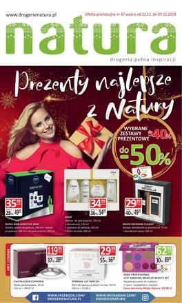 Gazetka promocyjna Drogerie Natura, ważna od 22.11.2018 do 05.12.2018.