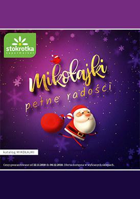 Gazetka promocyjna Stokrotka - Mikołajki pełne radości