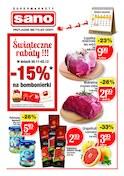 Gazetka promocyjna Sano - Świąteczne rabaty - ważna do 03-12-2018