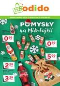 Gazetka promocyjna Odido - Pomysły na Mikołajki  - ważna do 06-12-2018