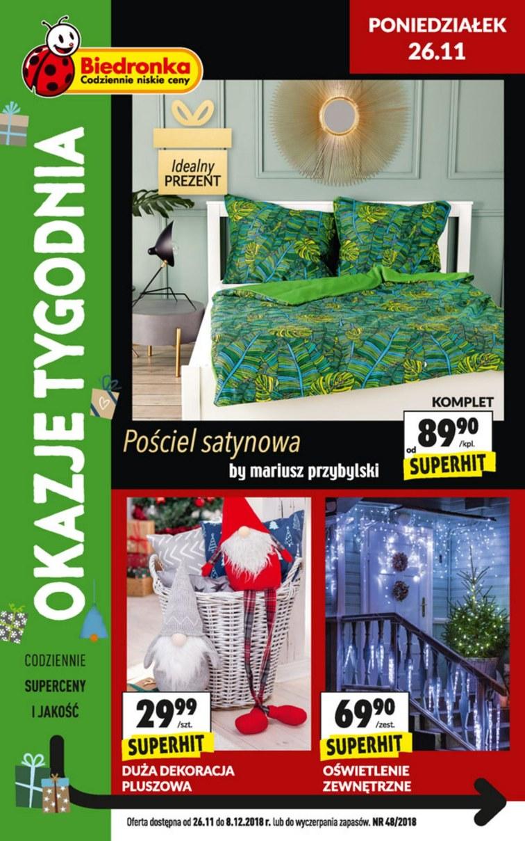 Gazetka Promocyjna Biedronka Okazjumpl S1 37010
