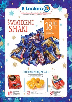 Gazetka promocyjna E.Leclerc - Świąteczne Smaki