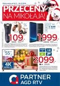 Gazetka promocyjna Partner AGD RTV  - Przeceny na Mikołaja - ważna do 06-12-2018