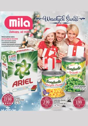 Gazetka promocyjna MILA, ważna od 27.11.2018 do 10.12.2018.