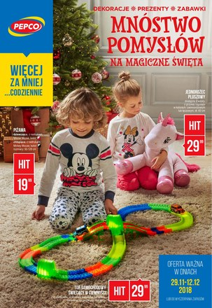 Gazetka promocyjna Pepco, ważna od 29.11.2018 do 12.12.2018.