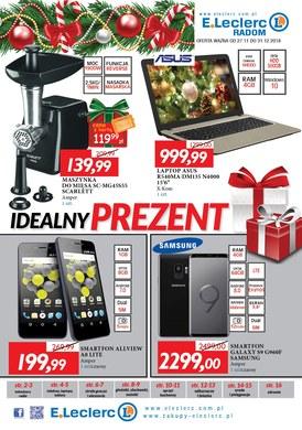 Gazetka promocyjna E.Leclerc - Idealny prezent - Radom