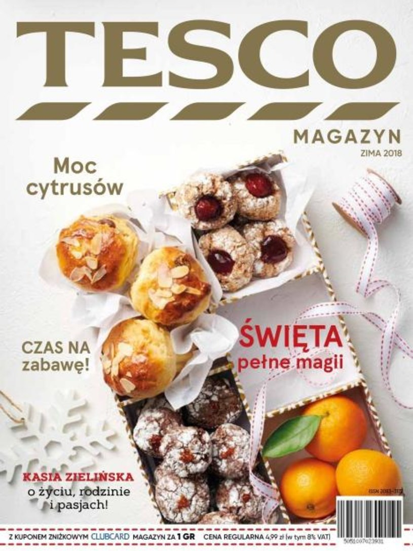 Gazetka promocyjna Tesco Hipermarket - ważna od 26. 11. 2018 do 31. 01. 2019