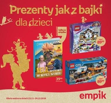 Gazetka promocyjna EMPiK, ważna od 23.11.2018 do 24.12.2018.