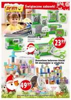 Gazetka promocyjna Prim Market - Świąteczne zabawki
