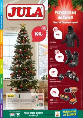 Gazetka promocyjna Jula - Przygotuj się do świąt