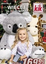 Gazetka promocyjna KIK - Więcej do podarowania  - ważna do 11-12-2018