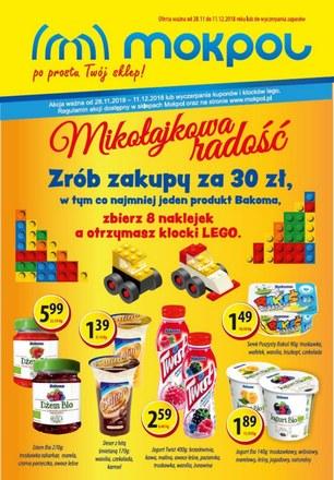 Gazetka promocyjna Mokpol, ważna od 28.11.2018 do 11.12.2018.