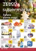 Gazetka promocyjna Tesco Supermarket - Święta pełne magii - supermarket - ważna do 05-12-2018