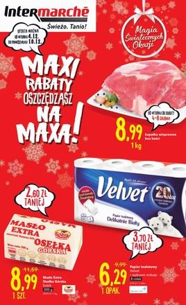 Gazetka promocyjna Intermarche Super, ważna od 04.12.2018 do 10.12.2018.