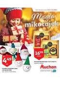 Gazetka promocyjna Auchan - Magia mikołajek  - ważna do 07-12-2018