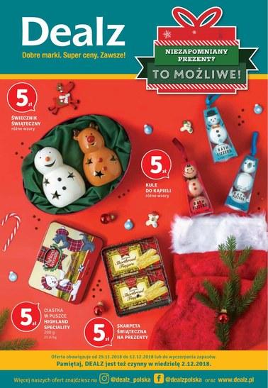 Gazetka promocyjna Dealz, ważna od 29.11.2018 do 12.12.2018.