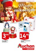 Gazetka promocyjna Auchan - Magia mikołajek - supermarket  - ważna do 07-12-2018