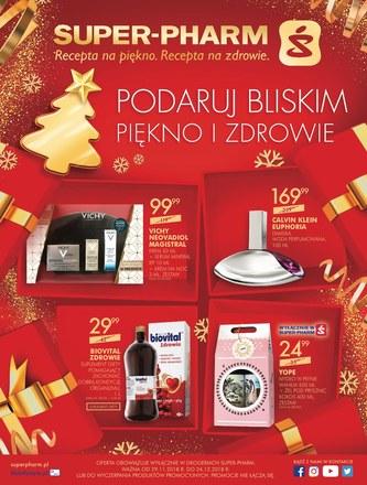 Gazetka promocyjna Super-Pharm, ważna od 29.11.2018 do 24.12.2018.