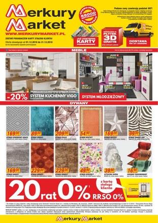 Gazetka promocyjna Merkury Market, ważna od 01.12.2018 do 31.12.2018.