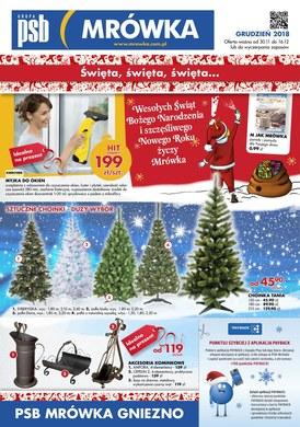 Gazetka promocyjna PSB Mrówka - Święta, święta, święta - Gniezno
