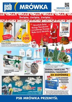 Gazetka promocyjna PSB Mrówka - Święta, święta, święta - Przemyśl