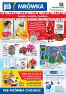 Gazetka promocyjna PSB Mrówka - Święta, święta, święta - Chojnice