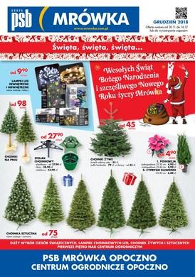 Gazetka promocyjna PSB Mrówka - Święta, święta, święta - Opoczno