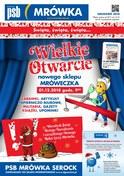 Gazetka promocyjna PSB Mrówka - Wielkie otwarcie - Serock - ważna do 16-12-2018